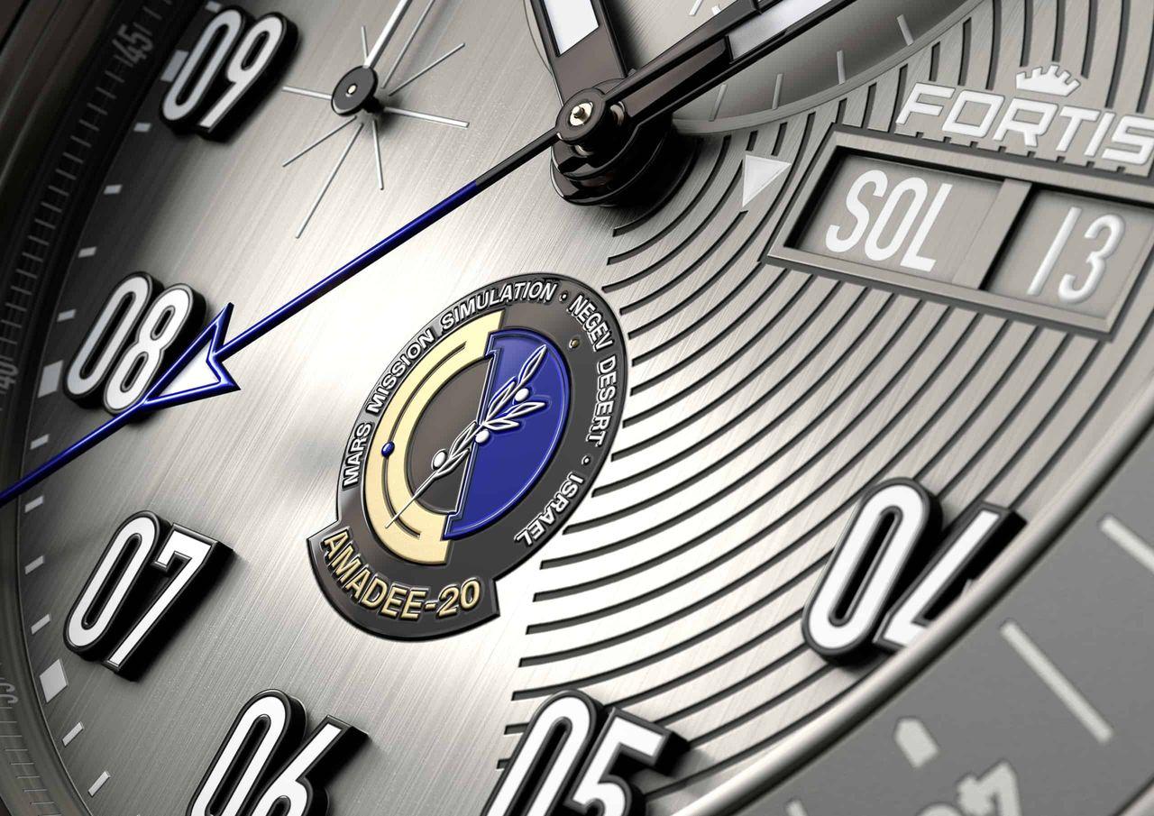 Fortis AMADEE-20 Official Cosmonauts Chronograph - logó összegző helyett