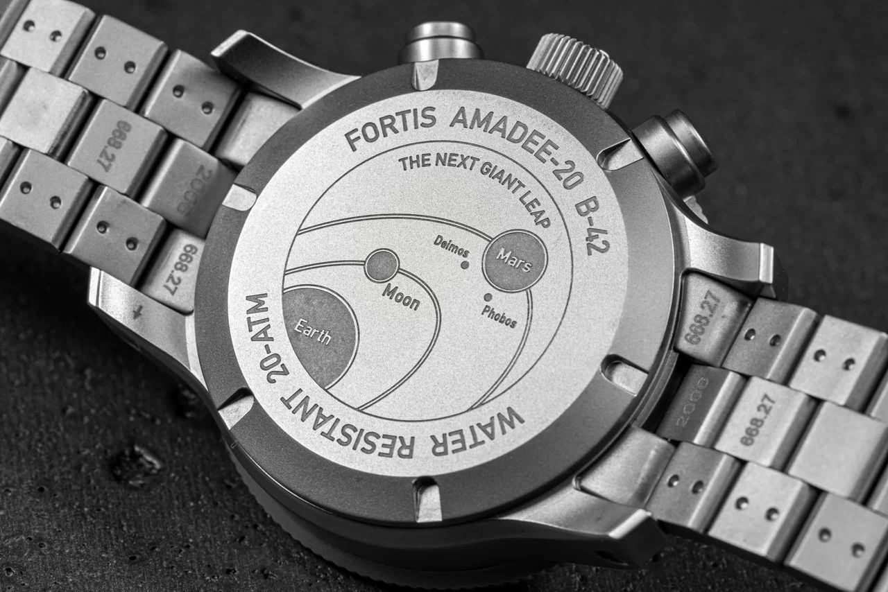 Fortis AMADEE-20 Official Cosmonauts Chronograph - a Hold már unalmas, irány a Mars