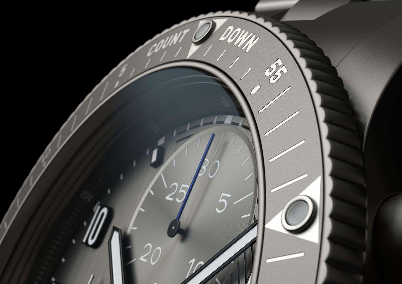 Fortis AMADEE-20 Official Cosmonauts Chronograph - egy lünetta két marker