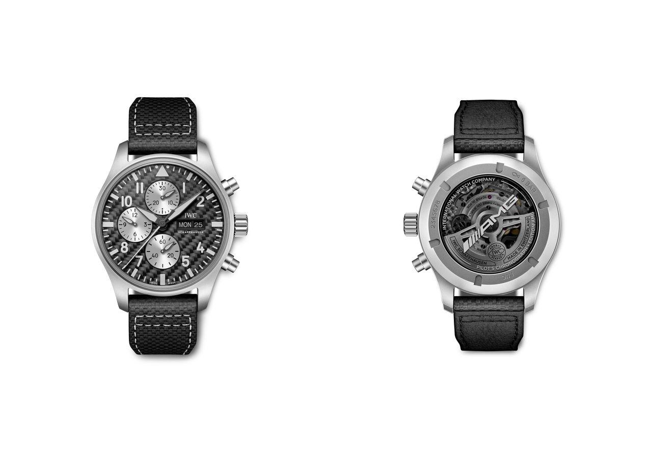 """IWC Pilot's Watch Chronograph Edition """"AMG"""" - lehet, hogy a külső németes, de a """"motor"""" majd lázba hoz"""