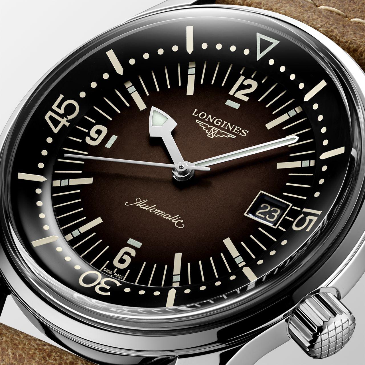 Longines Legend Diver 2021 - színátmenetes, ahogy az utóbbi évekbe dívik