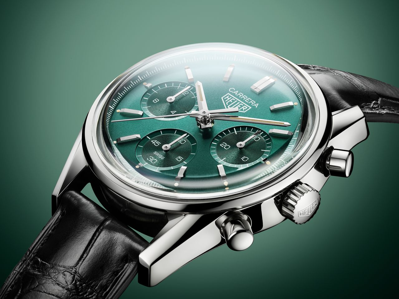 TAG Heuer Carrera Green Special Edition - a zöld az új kék