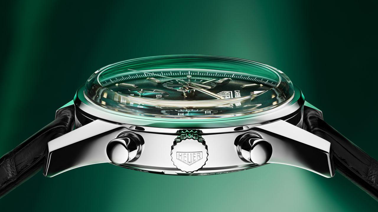 TAG Heuer Carrera Green Special Edition - nem májkrém konzerv