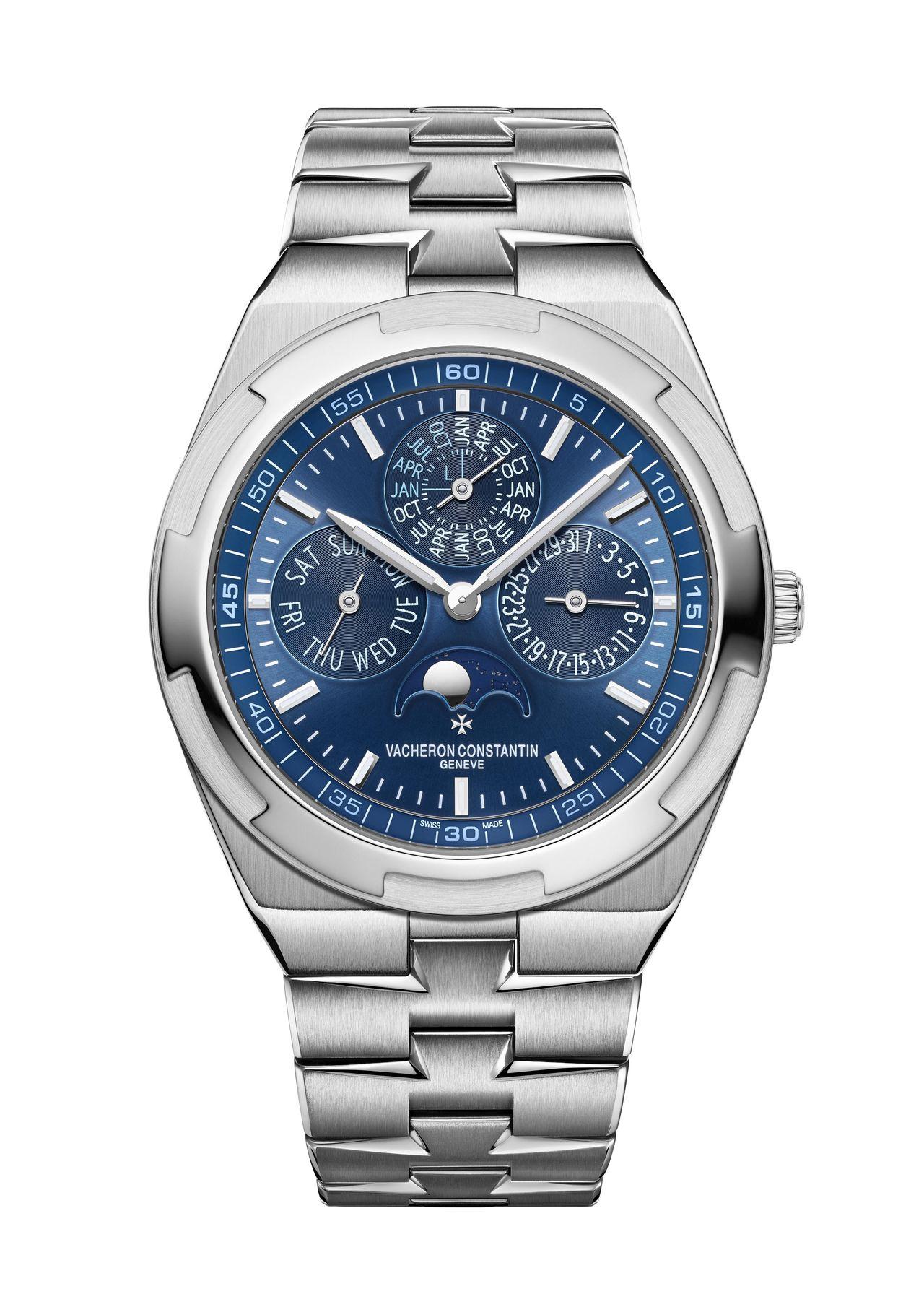 Vacheron Constantin Overseas perpetual calendar ultra-thin - luxus-sportórák jellemző megjelenés