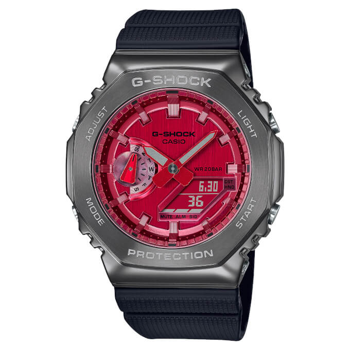 CASIO G-Shock GM-2100 METAL. Referenciaszám: GM-2100-A4. Forrás: CASIO