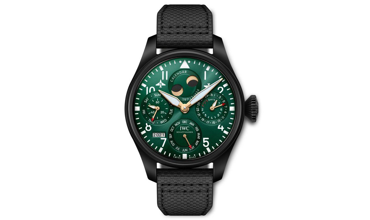 IWC Big Pilot's Watch Perpetual Calendar Edition Racing Green